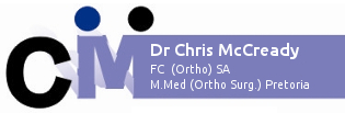 Dr Chris McCready Logo